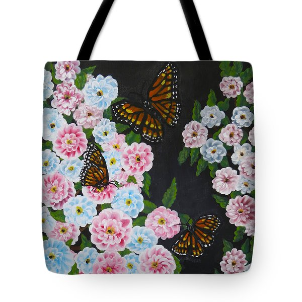 Butterfly Beauty Tote Bag by Teresa Wing