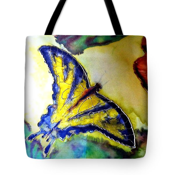 Butterfly Tote Bag by Beverly Johnson
