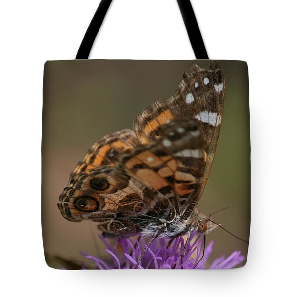 Butterfly Tote Bag by Cathy Harper