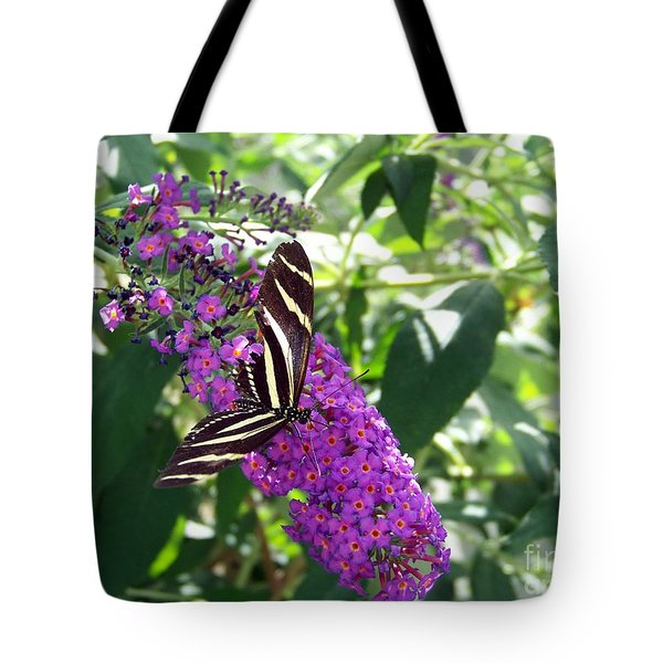 Tote Bag featuring the photograph Butterfly by Charles Robinson