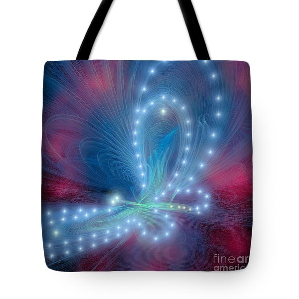 Butterfly Tote Bag by Corey Ford