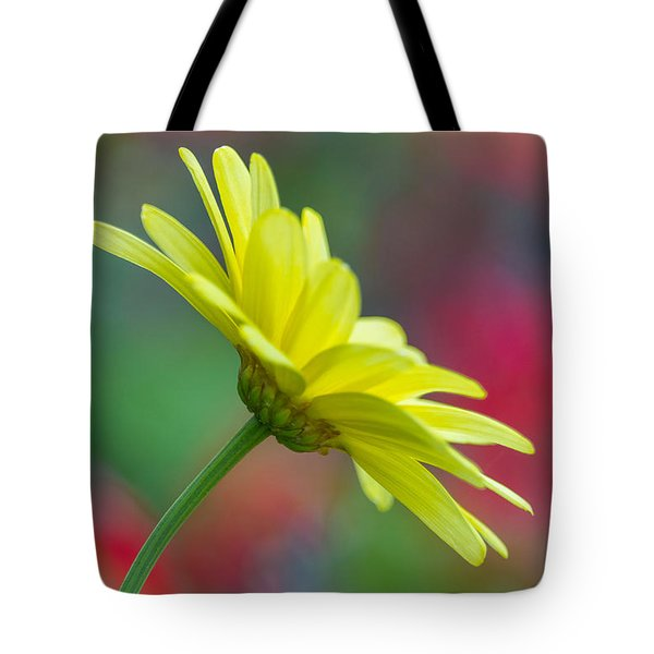 Butterfly Daisy Tote Bag