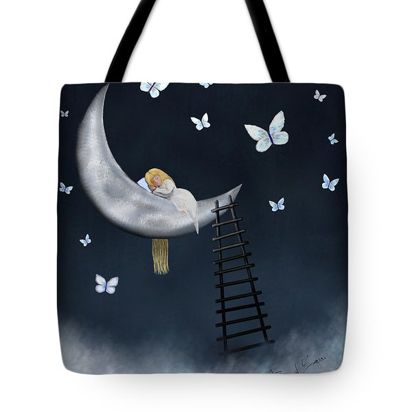 Butterfly Dreams By Sannel Larson Tote Bag