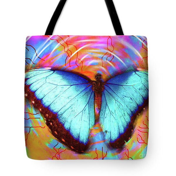 Butterfly Dreams Tote Bag by Robert Ball