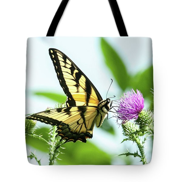 Butterfly Echo Tote Bag