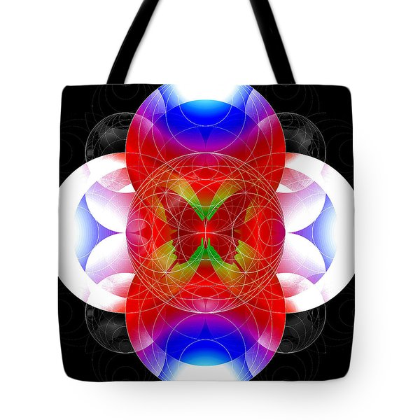 Butterfly Effect Tote Bag by Iowan Stone-Flowers