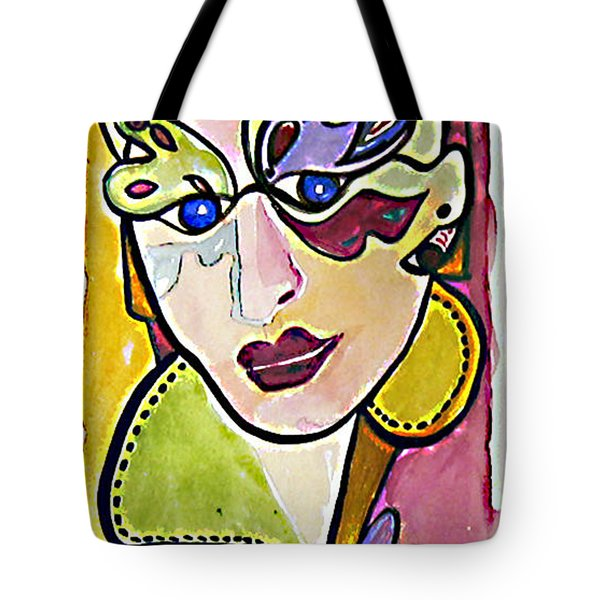 Butterfly Eyes Tote Bag