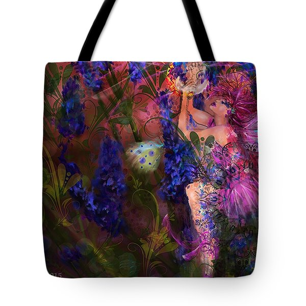 Butterfly Fairy Tote Bag by Kari Nanstad