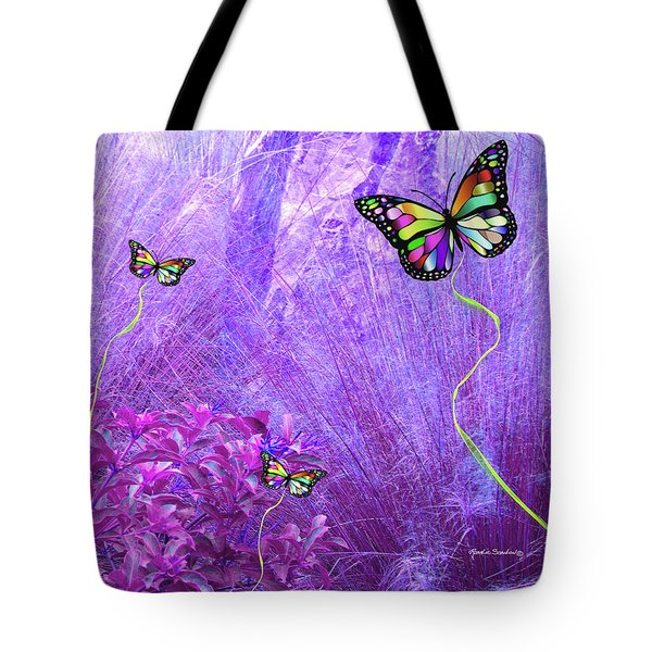 Butterfly Fantasy Tote Bag by Rosalie Scanlon