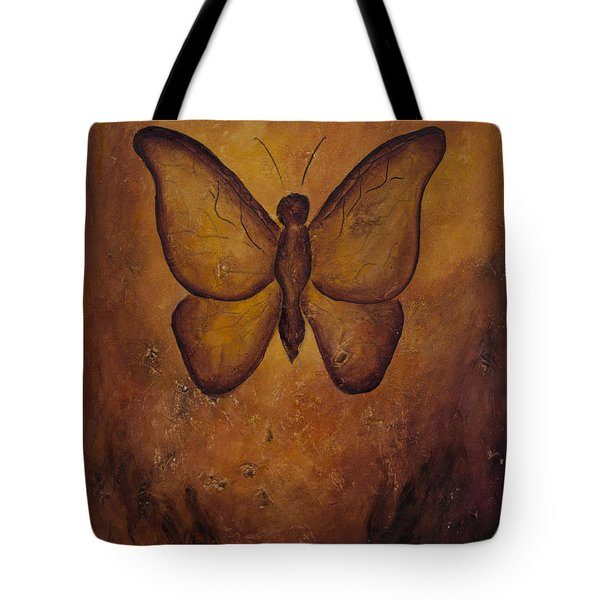 Butterfly Freedom Tote Bag by Jocelyn Friis