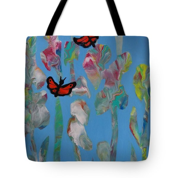 Butterfly Glads Tote Bag