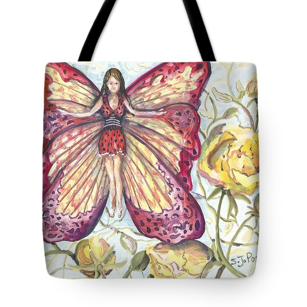 Butterfly Grace Fairy Tote Bag