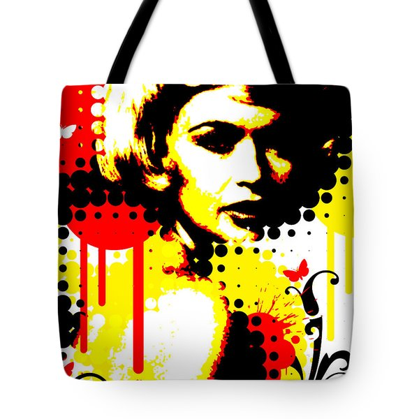 Butterfly Headcase Tote Bag by Chris Andruskiewicz