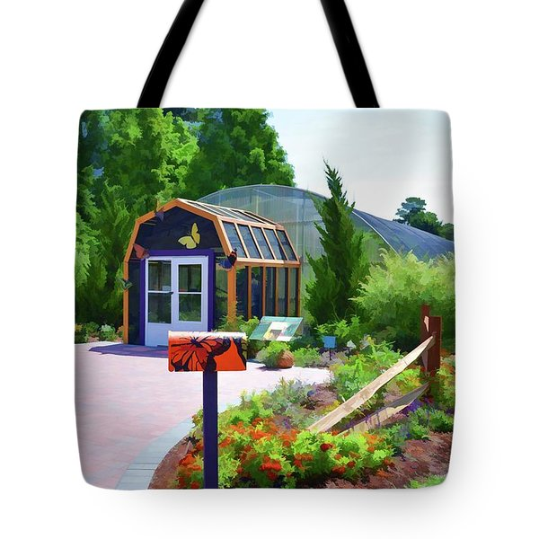 Butterfly House 1 Tote Bag