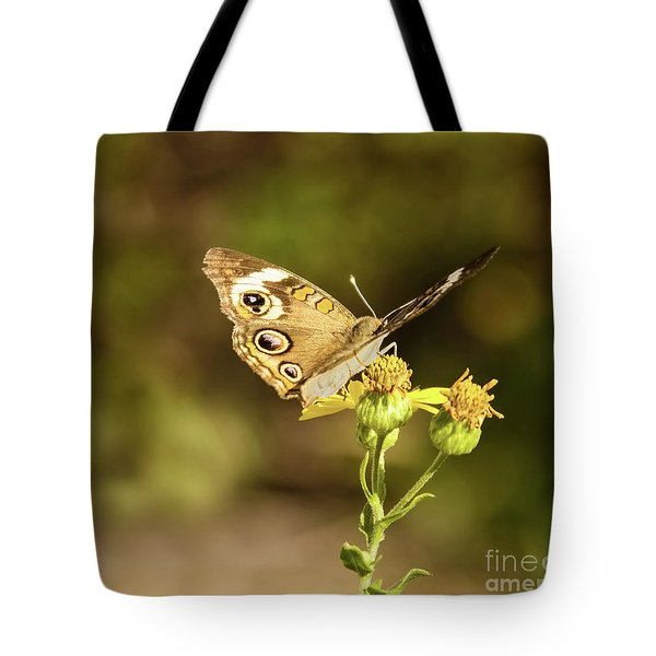 Butterfly In Bokeh Tote Bag