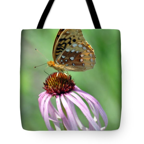 Butterfly In The Wind Tote Bag by Marty Koch