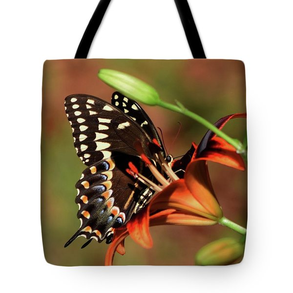 Butterfly Kiss 2 Tote Bag