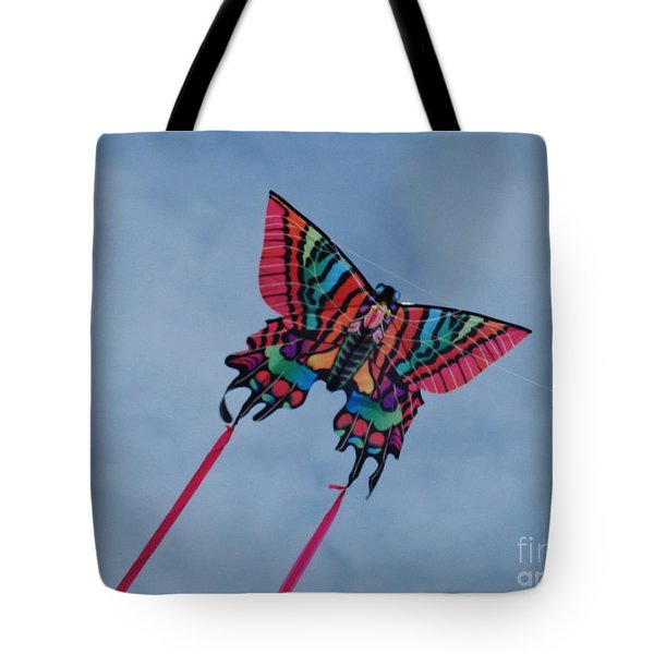 Butterfly Kite 2 Tote Bag