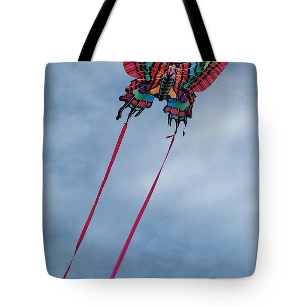 Butterfly Kite 3 Tote Bag