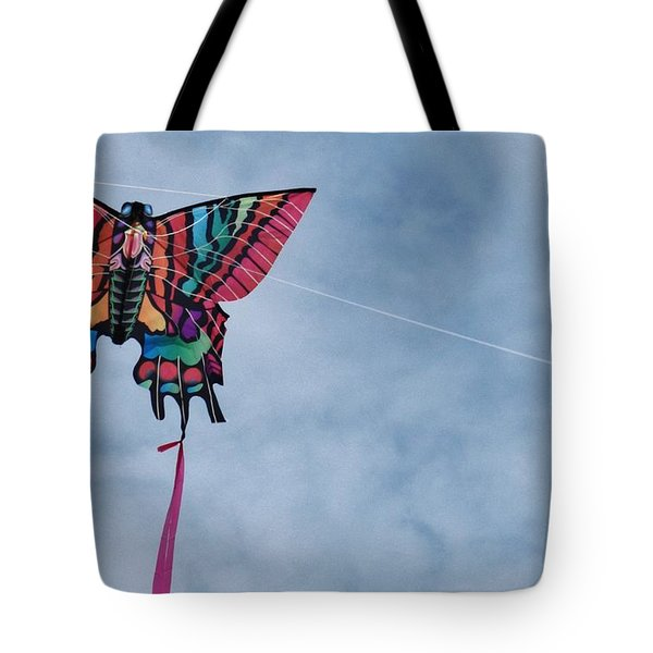 Butterfly Kite 5 Tote Bag