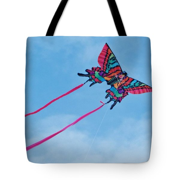 Butterfly Kite Tote Bag