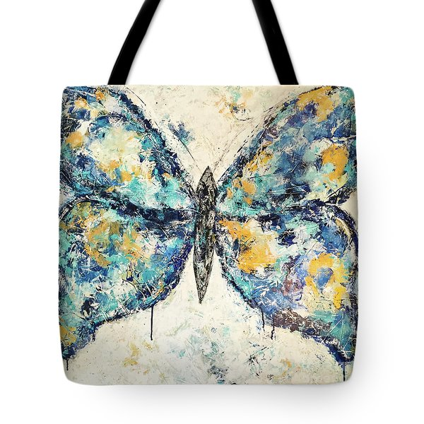 Butterfly Love Tote Bag by Kirsten Reed