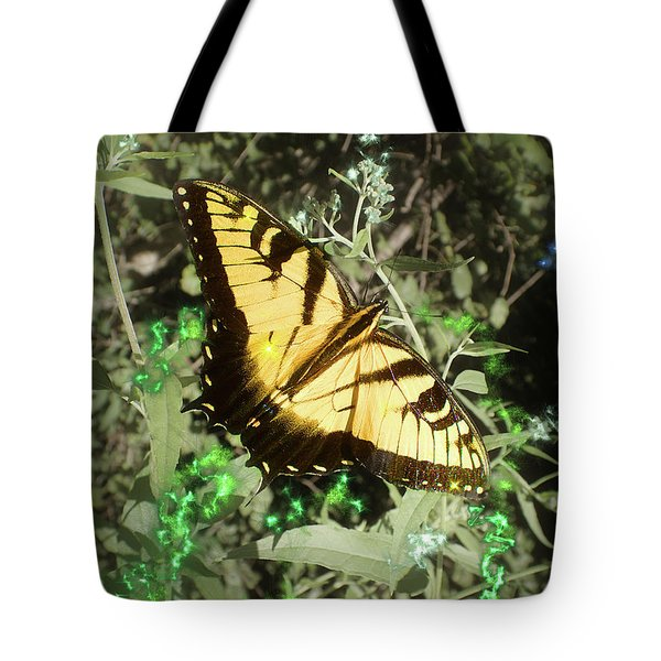 Butterfly Magic Tote Bag