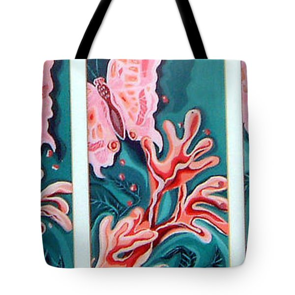 Butterfly Metamorphis Tote Bag