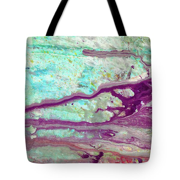 Butterfly Mind - Large Colorful Pastel Abstract Art Painting Tote Bag