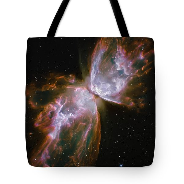Butterfly Nebula Tote Bag by Jennifer Rondinelli Reilly - Fine Art Photography