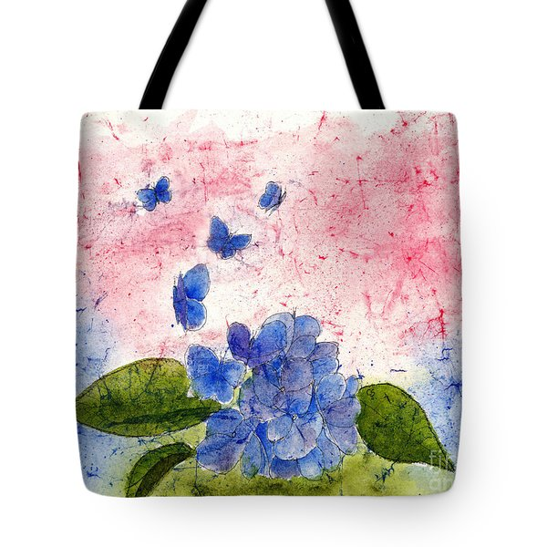 Butterflies Or Hydrangea Flower, You Decide Tote Bag