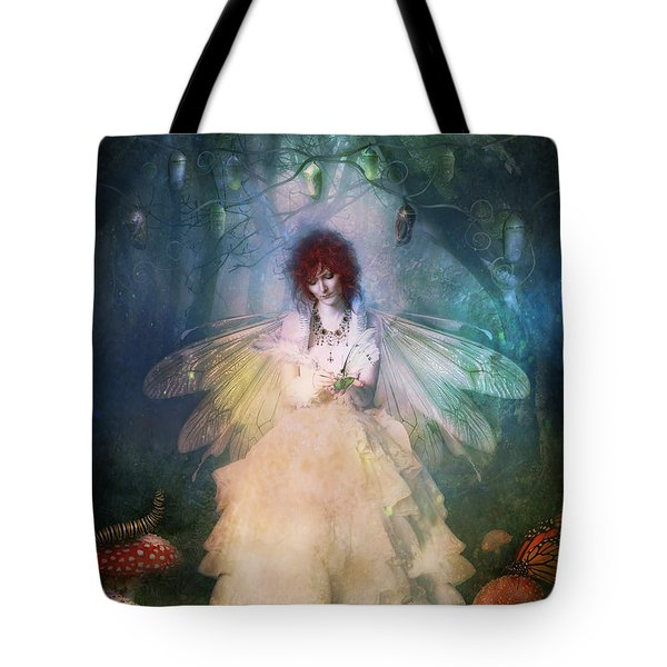 Butterfly Painter Tote Bag