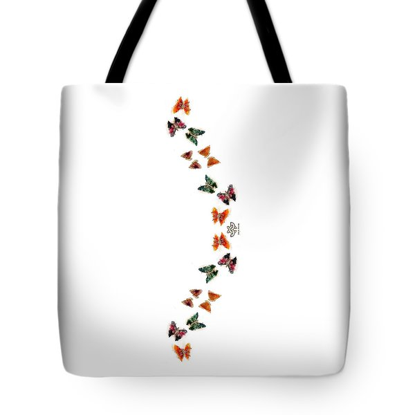 Butterfly Path Tote Bag
