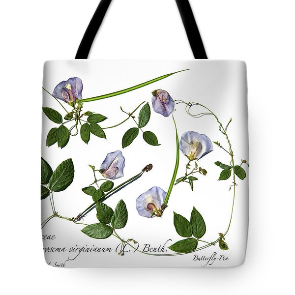 Butterfly Pea Tote Bag