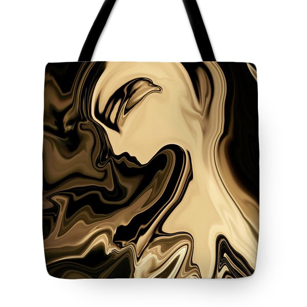 Tote Bag featuring the digital art Butterfly Princess by Rabi Khan