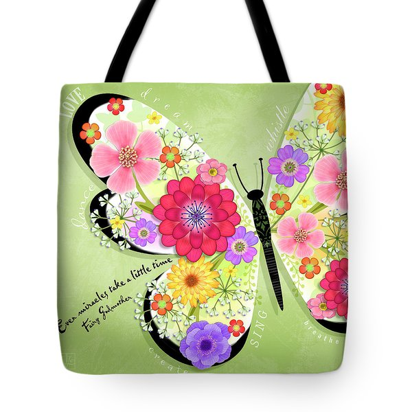 Butterfly Promise Tote Bag