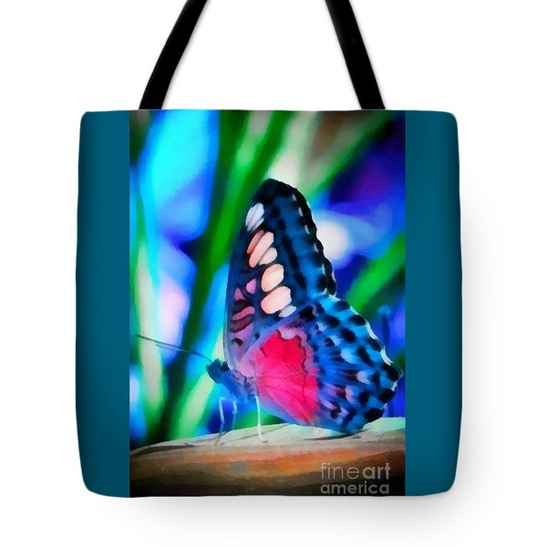 Butterfly Realistic Painting Tote Bag