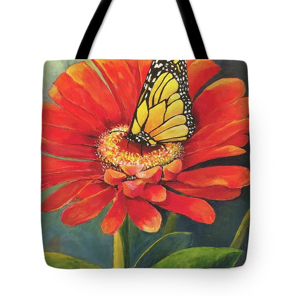 Butterfly Rest Tote Bag