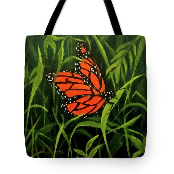 Butterfly Tote Bag by Roseann Gilmore