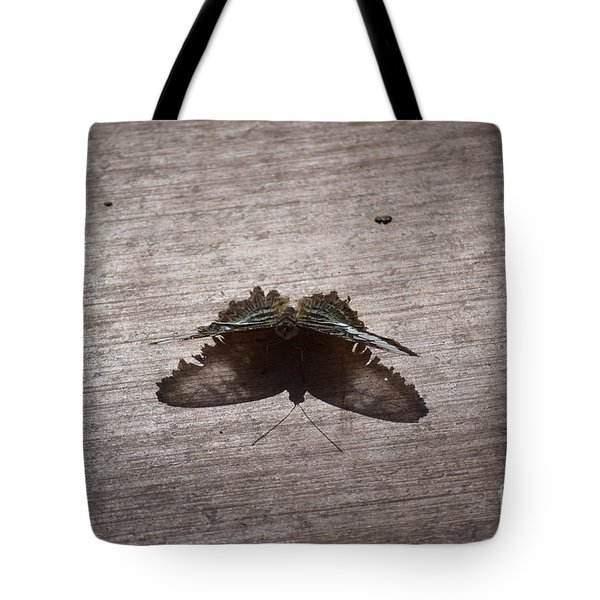 Butterfly See Through Tote Bag