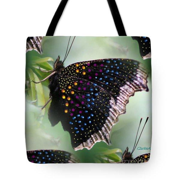Butterfly Sunbath #2 Tote Bag