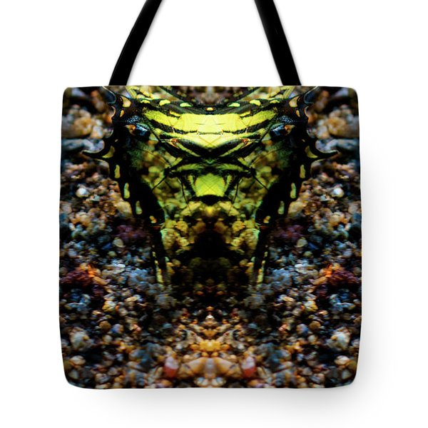 Butterfly Tiger Tote Bag
