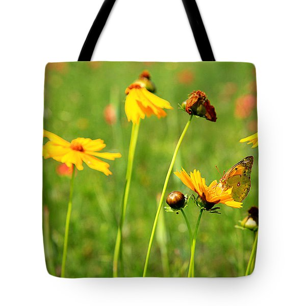Butterfly  Tote Bag by Toni Hopper
