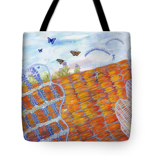 Butterfly's Wings Tote Bag