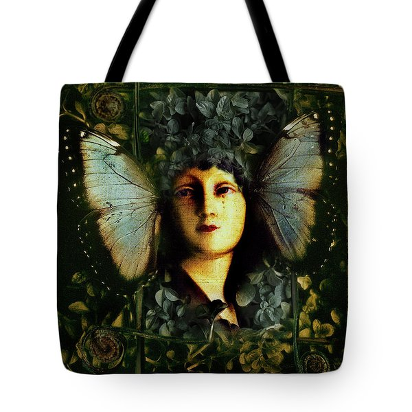 Butterfly Woman Tote Bag
