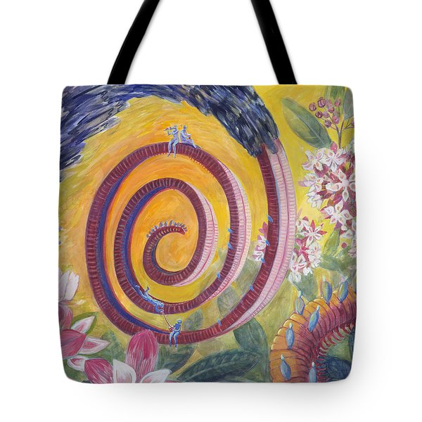 Butterfly's 'tongue' Tote Bag