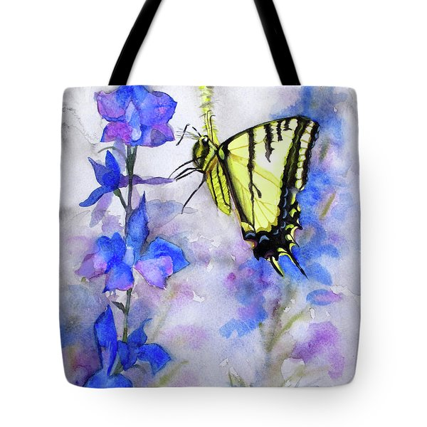 Butteryfly Delight Tote Bag