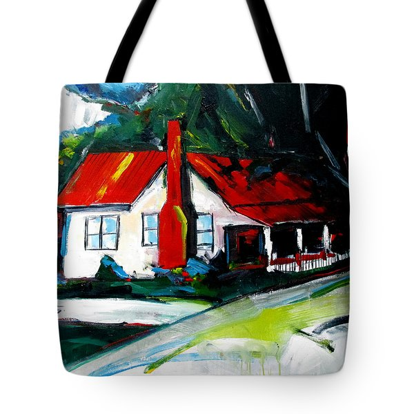 Butlers Crossing Tote Bag