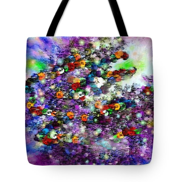 Buttons Tote Bag by Desline Vitto