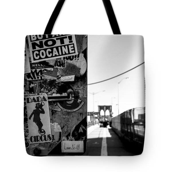 Buy Art Not Cocaine Tote Bag